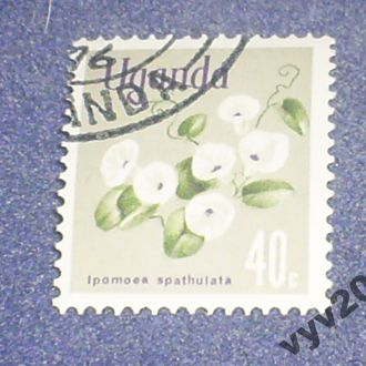 Уганда-1969 г.-Цветы