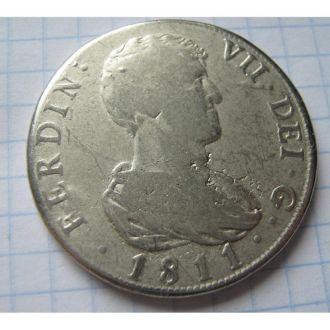 ІСПАНІЯ ТАЛЕР 1811 РІК КОПІЯ