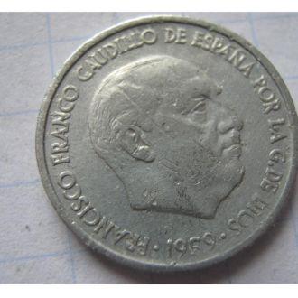10 ЦЕНТ 1959 ІСПАНІЯ