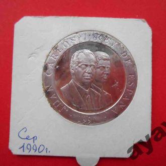 ИСПАНИЯ 1990 БАРСЕЛОНА 2000 песет PROOF Олимпиада