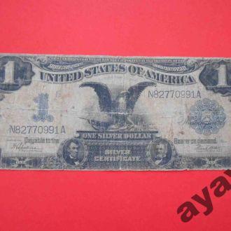 США 1899 Один доллар $1.00  с орлом.