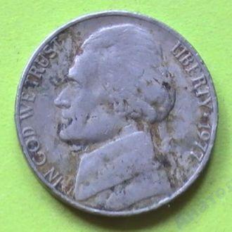5 Центов 1977 г США 5 Центів 1977 р США