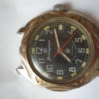 часы ВОСТОК КОМАНДИРСКИЕ РАБОЧИЙ БАЛАНС 19042