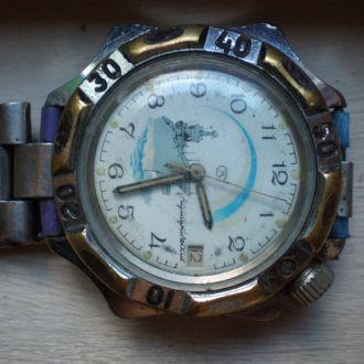 часы Восток Командирские рабочий баланс 11081