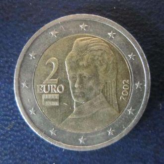 2 евро Австрия 2002