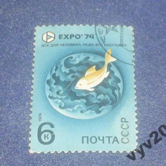 СССР-1974 г.-Экспо, рыба