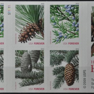 США Sc.4482-85 Буклет Рождество 2010
