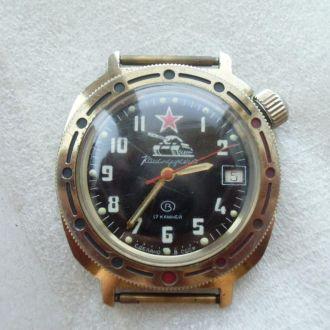 Часы Командирские Восток Танк  СССР Рабочие