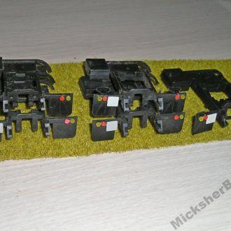Зил 130 (4502) подрамник со стопами и номером