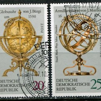 Германия ГДР География Старинные глобусы Лот гаш