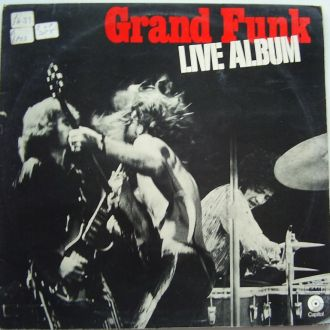 GRAND FUNK RAILROAD  Live Album  2LP (UK) EX-/VG++