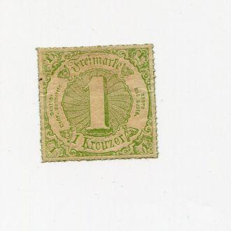 ГЕРМАНИЯ ТУРН И ТАКСИС 1865