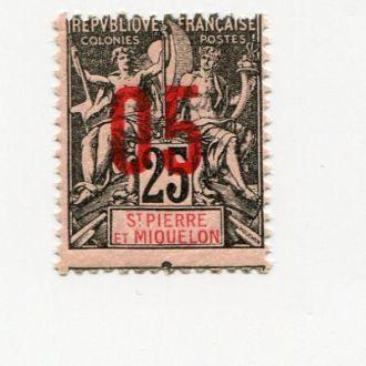 СЕН ПЬЕР И МИКЕЛОН 1912 * СДВИГ ПЕРФОРАЦИИ