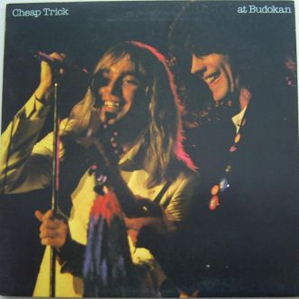 CHEAP TRICK  Cheap Trick At Budokan LP + booklet