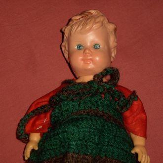 Винтажная кукла Германия. Рельефные волосы.