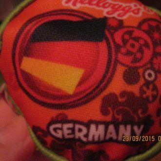 GERMANY мяч игрушка мягкая сувенир шарики внутри