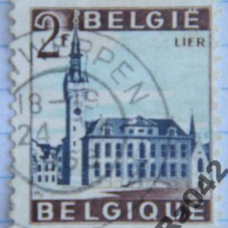 Марка почта Бельгия 1966 Лир Ратуша Туризм