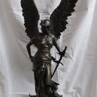 Скульптура Виктория, подпись W.Vole. Бронза. Мрамор