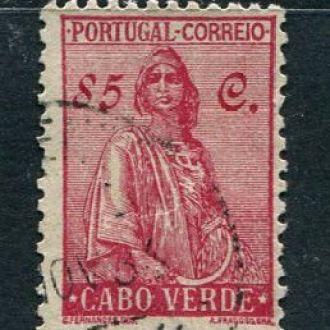 Кабо-Верде португ.1934 Гашеная № 220