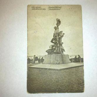 Открытка  Хельсинки  1915год