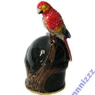 Наперсток коллекционный Попугай, В наличии!
