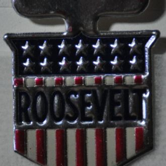 CШA Непочтовые Рузвельт