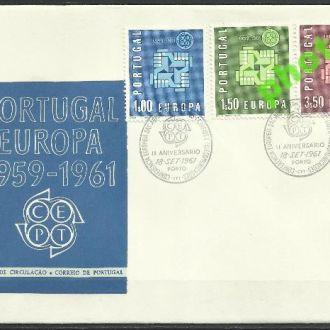 Португалия 1961 Европа СЕПТ 2м.КПД