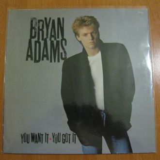 Bryan Adams - You Want It, You Got It [Germany]