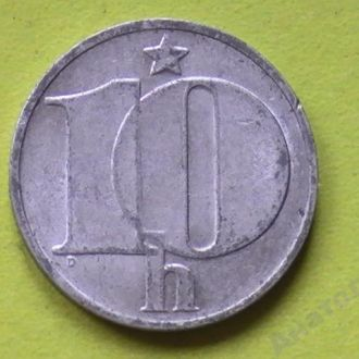 10 Геллеров 1983 г Чехословакия 10 Гелерів 1983 р