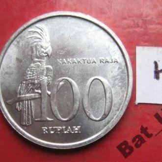 ИНДОНЕЗИЯ, 100 рупий 1999 года (UNC!)