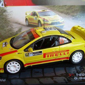Peugeot 307 WRC - Argentina 2006 1:43 Eaglemoss