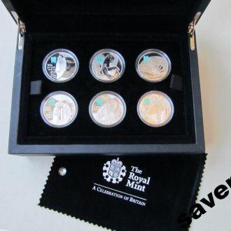 Набор монет Великобритания Олимпиада 2012 6 штук.1