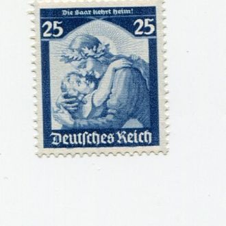 ГЕРМАНИЯ 1935 * РЕЙХ СААР ДЕТИ
