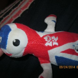 сувенир олимпиада 2012 лондон зимняя брелок символ