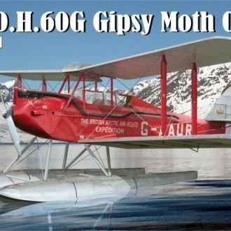 AVIS - 72018 - D.H.60G Gipsy Moth Coupe полярный - 1:72