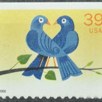 США Sc.4029 Любовь 2006