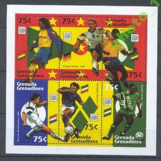 Гренада Гренадины 1994 Футбол ЧМ 6м.Клб**