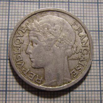 Франция, 2 франка 1947 г.