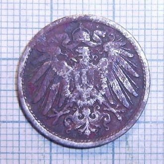 Германия, 10 пфеннигов 1914
