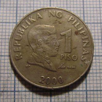 Филиппины, 1 песо 2000 г.