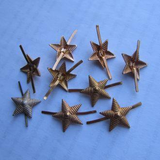 Звезда на погоны СССР малая алюминий