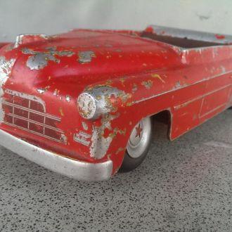 Игрушка машинка красный кабриолет звезда СССР
