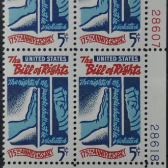США Билль о правах Sc.1312 1966