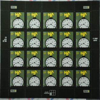 США Часы Стандарт Лист 2003 Sc.3757