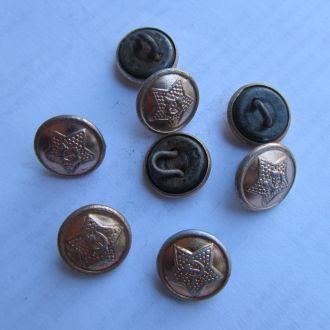 Пуговица Армейская  СССР алюминий малая
