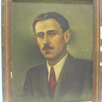 Старый портрет, 1949 год, автор Бутко.