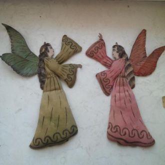 Елочная игрушка вата ангел священник царизм