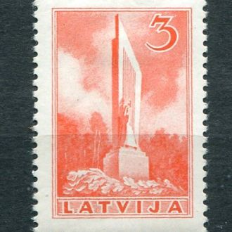 Латвия 1937 год Чистая * Памятник
