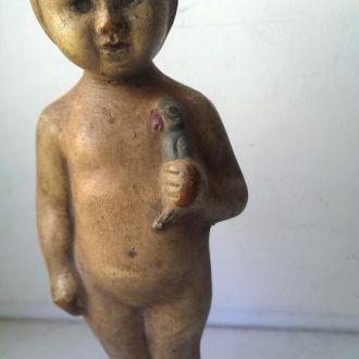 М Игрушка кукла резиновый пупс 20е годы