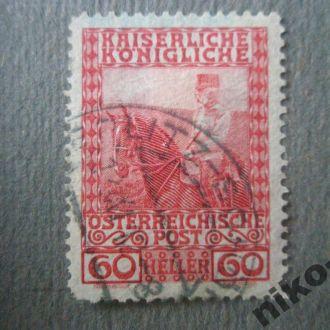 Австрія 1908 рік 60 гелерів.